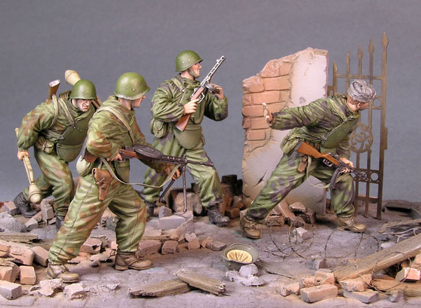 Dioramas and Vignettes: The Assault