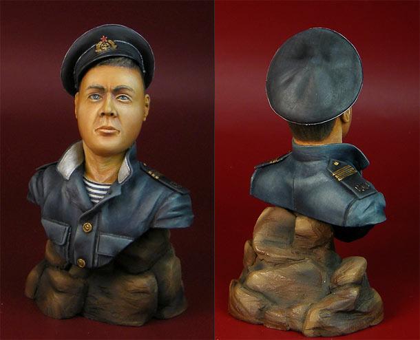 Sculpture: Petty officer, Soviet navy