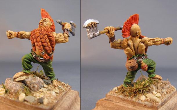 Miscellaneous: Berserker dwarf
