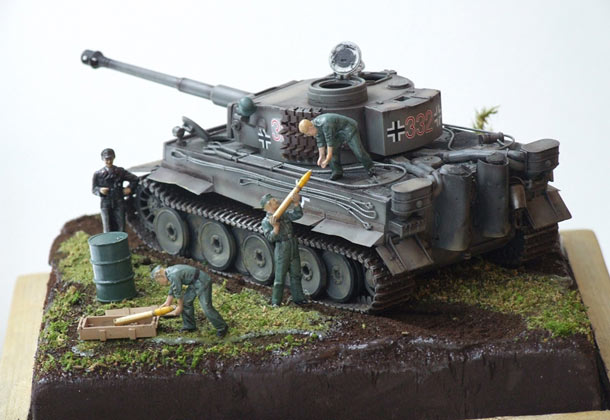 Dioramas and Vignettes: Loading ammo