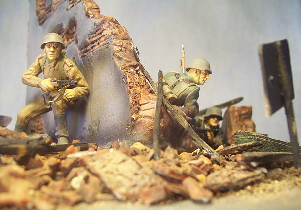 Dioramas and Vignettes: Achtung Minen!