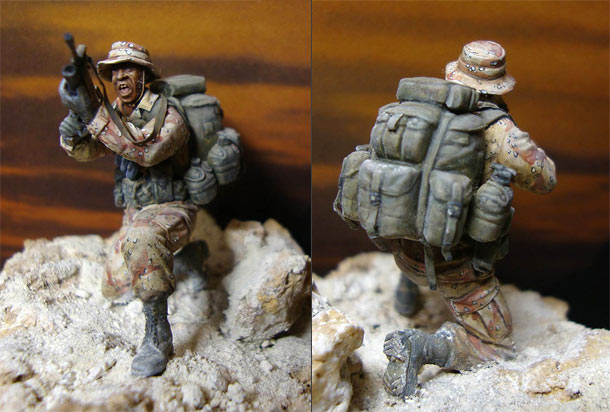 Figures: USMC trooper