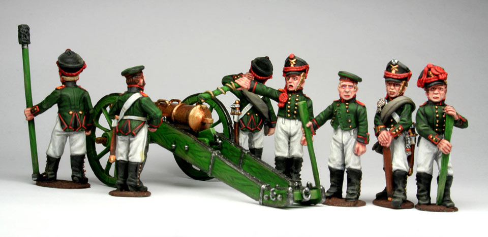 Figures: Russian artillery, 1812, photo #5