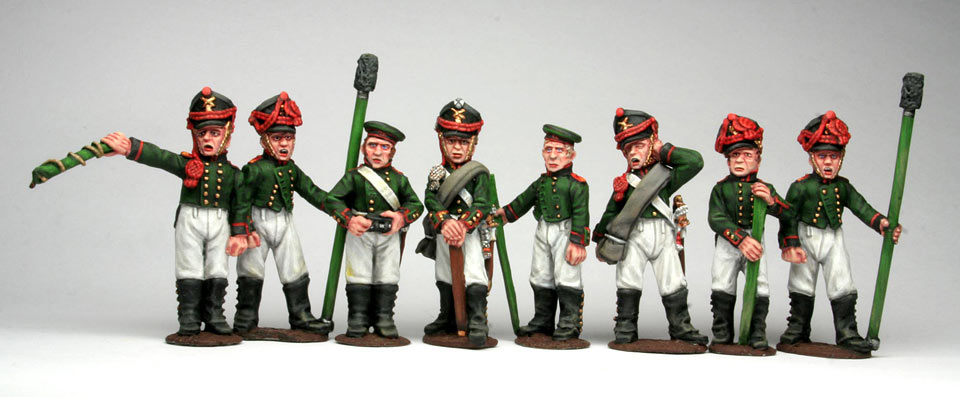 Figures: Russian artillery, 1812, photo #6
