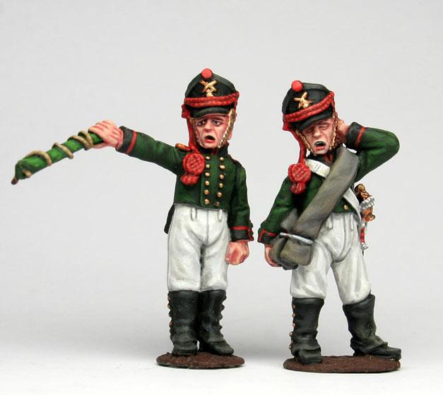 Figures: Russian artillery, 1812, photo #9