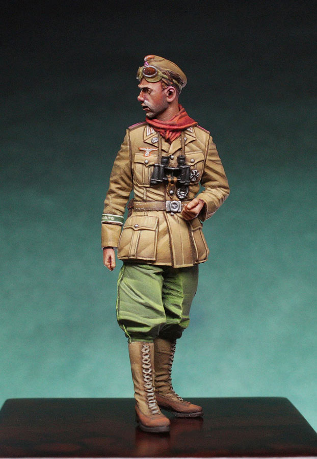 Figures: DAK Panzer Officer, photo #5