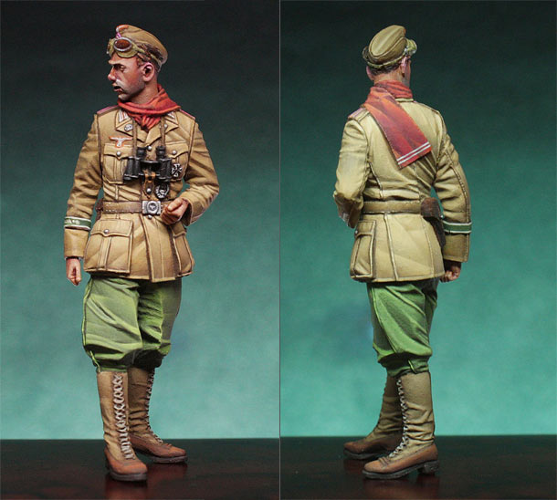 Figures: DAK Panzer Officer