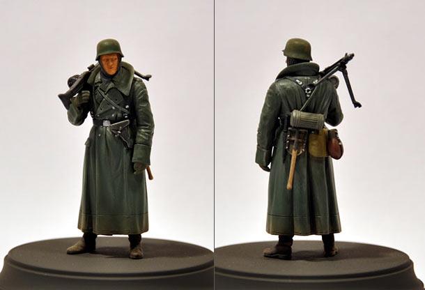 Figures: German machine gunner