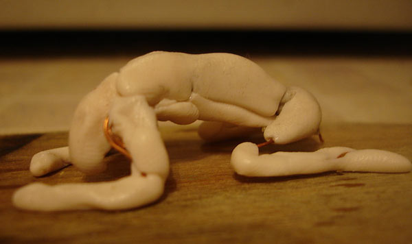 Sculpture: Winter slumber, photo #9