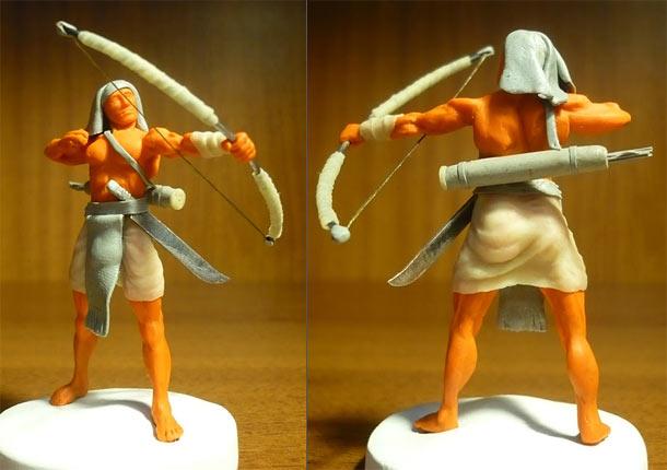 Sculpture: Egyptian archer