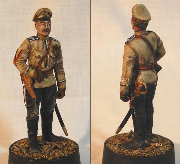 Training Grounds: Lieutenant, Death Battalion, 1917