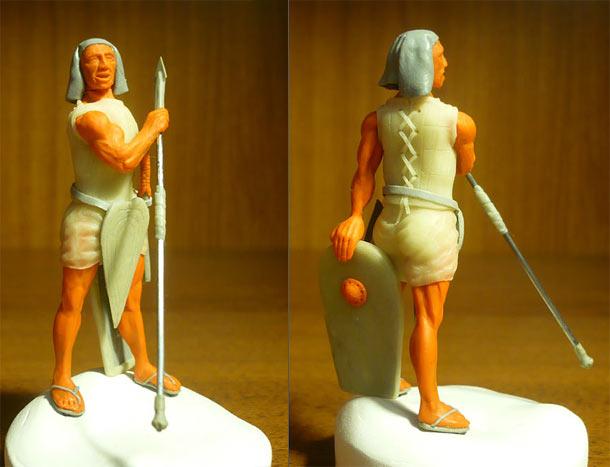 Sculpture: Heavy infantry, Egypt