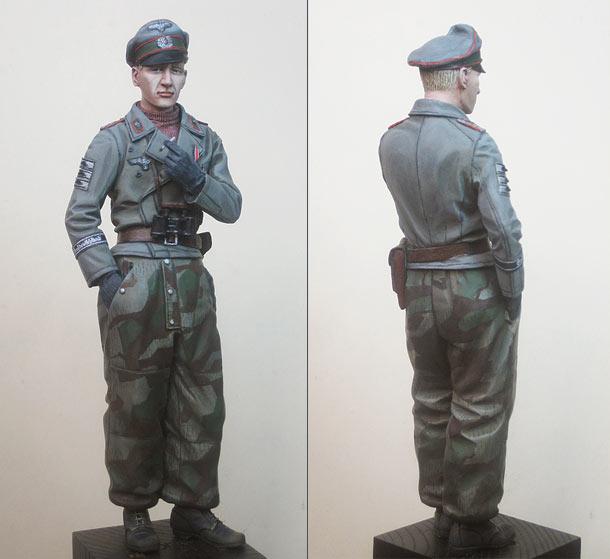 Figures: StuG platoon commander