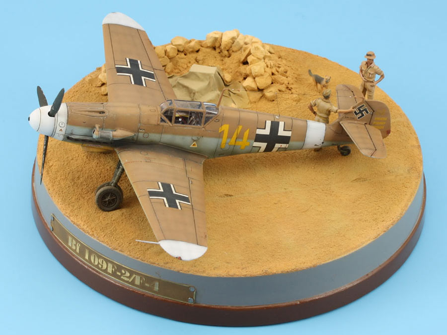 Dioramas and Vignettes: On the dusty airfield, photo #1