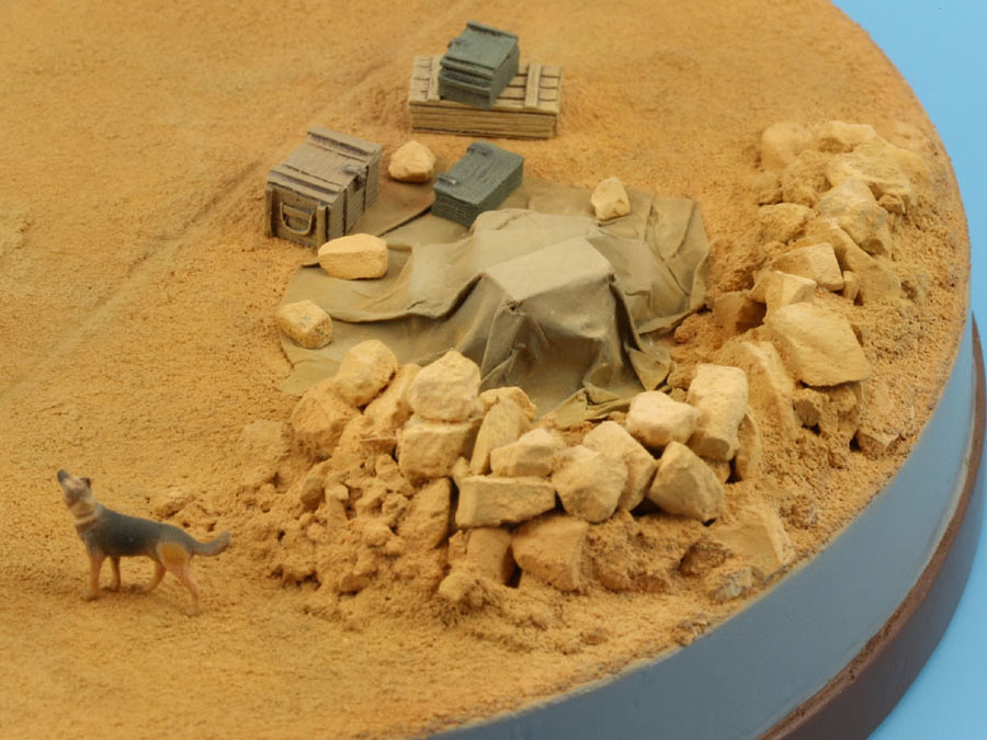 Dioramas and Vignettes: On the dusty airfield, photo #10