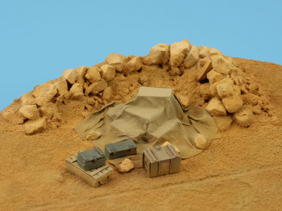 Dioramas and Vignettes: On the dusty airfield, photo #11