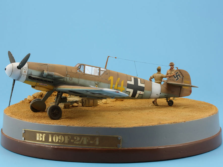 Dioramas and Vignettes: On the dusty airfield, photo #2