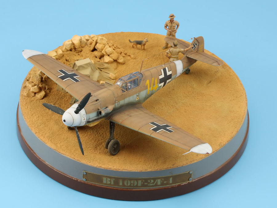 Dioramas and Vignettes: On the dusty airfield, photo #3