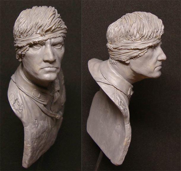 Sculpture: I'm dying, but I don't surrender!