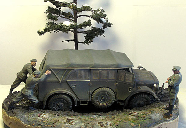 Dioramas and Vignettes: General Schlamm