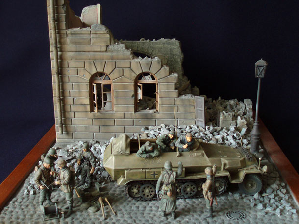 Dioramas and Vignettes: Panzergrenadiers