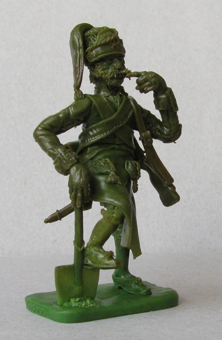 Sculpture: Pioneer, Spanish heavy infantry regt , photo #1