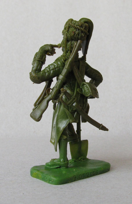 Sculpture: Pioneer, Spanish heavy infantry regt , photo #2