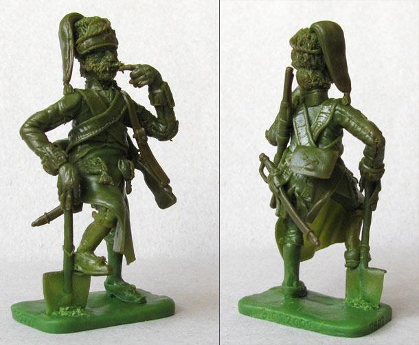 Sculpture: Pioneer, Spanish heavy infantry regt