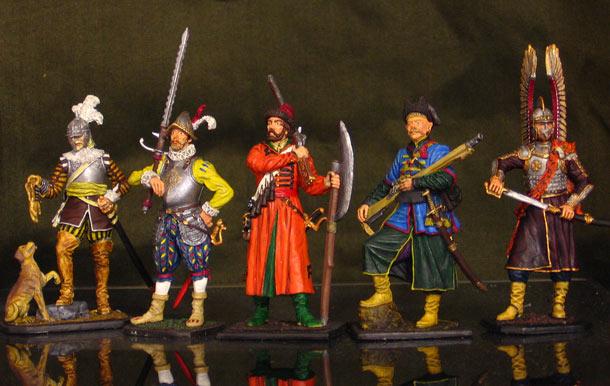 Figures: Armies of Renaissance