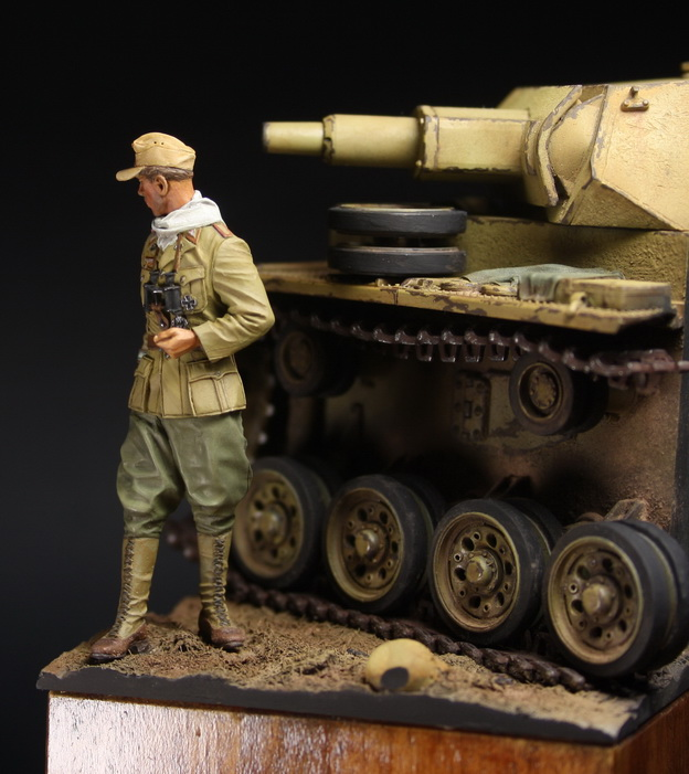 Dioramas and Vignettes: German officer, DAK, photo #2