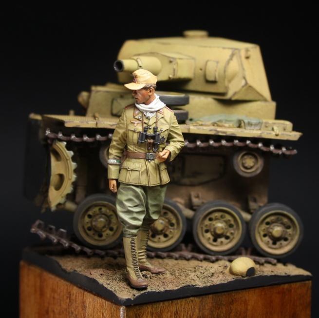 Dioramas and Vignettes: German officer, DAK, photo #3