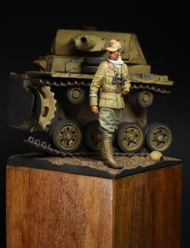 Dioramas and Vignettes: German officer, DAK, photo #5