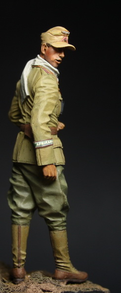 Dioramas and Vignettes: German officer, DAK, photo #6