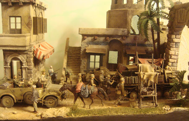 Dioramas and Vignettes: Retreat of Afrika Korps. December 1942
