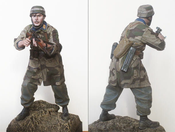 Figures: Luftwaffe paratrooper