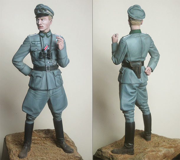 Figures: Wehrmacht infantry officer