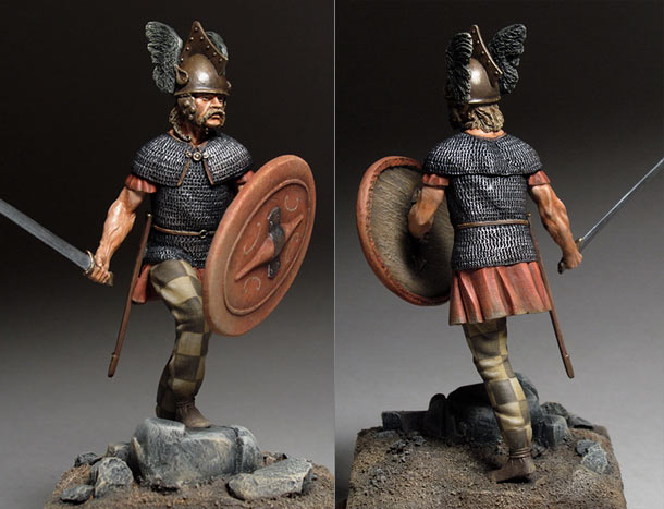 Figures: Celtic warrior