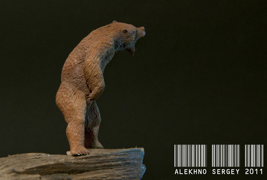 Sculpture: Lord of the Taiga, photo #2