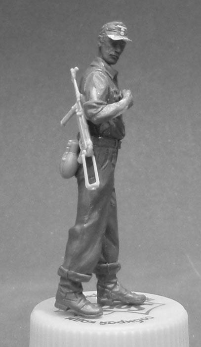 Sculpture: Krigsmarine seaman, North Africa, 1943, photo #4