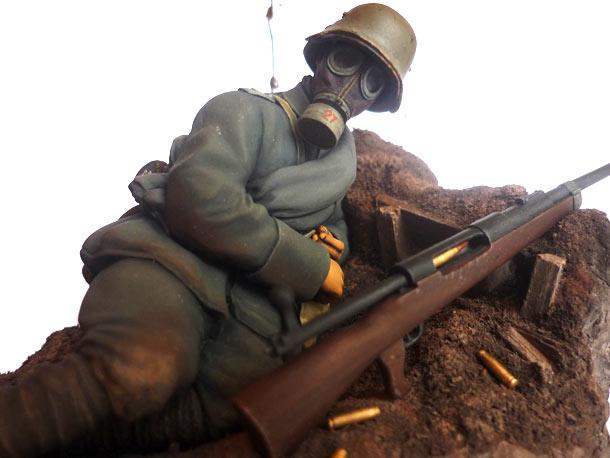 Figures: German anti-tank infantryman, 1918