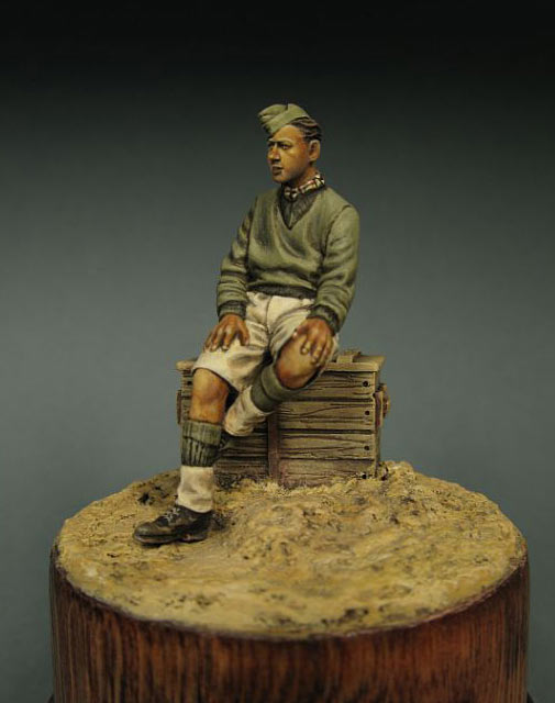 Figures: British trooper, North Africa, photo #2