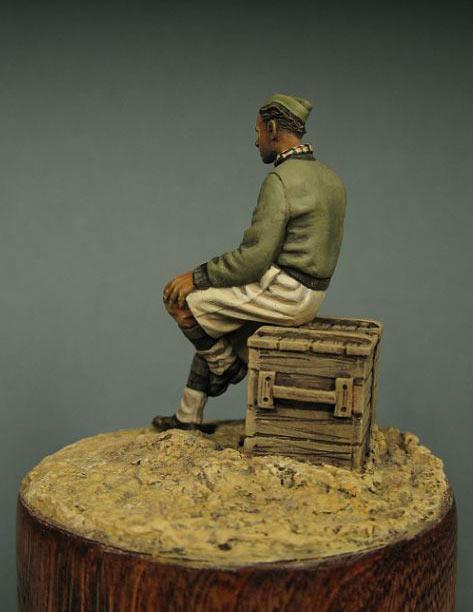 Figures: British trooper, North Africa, photo #3