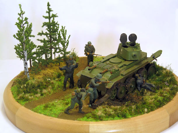 Dioramas and Vignettes: 1415 days to the Victory