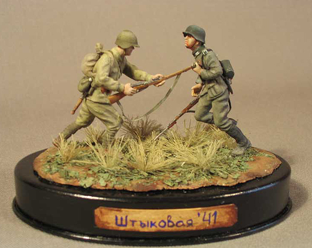 Dioramas and Vignettes: Bayonet Assault