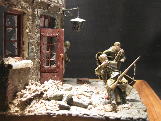 Dioramas and Vignettes: Ran into trouble