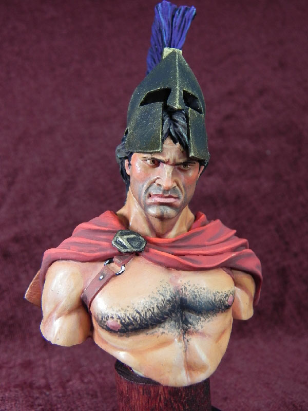 Figures: Spartan warrior, photo #1