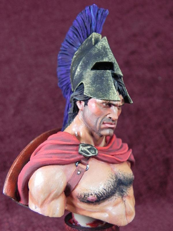 Figures: Spartan warrior, photo #6