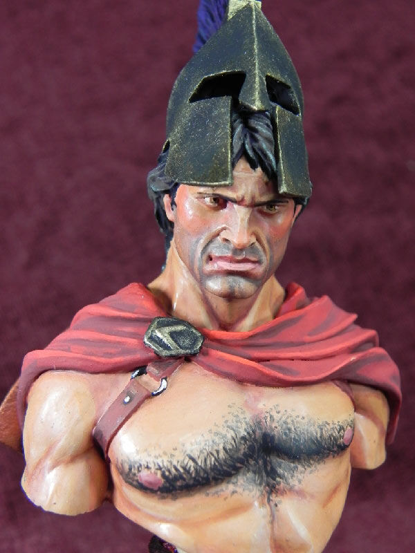 Figures: Spartan warrior, photo #7