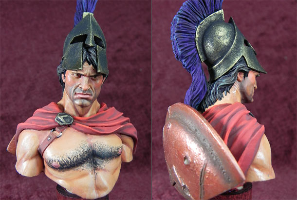Figures: Spartan warrior