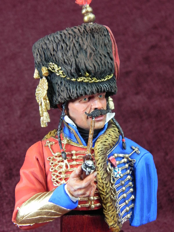 Figures: French hussar, photo #2